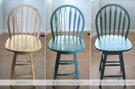 Wood Bar Chairs Refinishing The Bar Stools It U0027s Always Autumn
