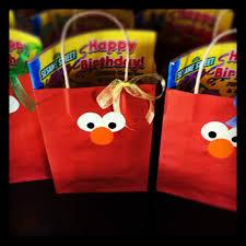 elmo party favors elmo birthday party favors treat bags elmo elmo