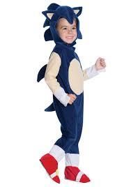 Sonic Shadow Halloween Costume Sonic Hedgehog Costumes Classic Video Game Sonic Costumes