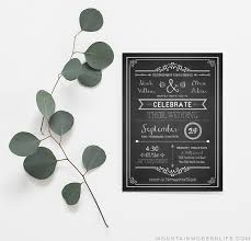 diy wedding invitations templates vintage rustic diy wedding invitation template
