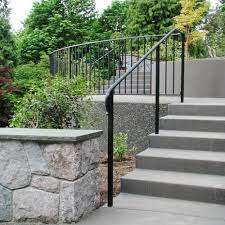 exterior stair railing height code building outside stair