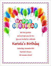 birthday party invitation flyer template u2013 3 printable designs
