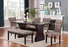 acme wallace dining table weathered blue washed acme dining furniture sets with 6 pieces ebay