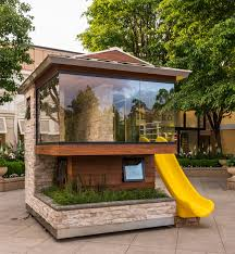 Playhouse Design Modern Point Of View Dreams Happen 2015 Playhouse Auction
