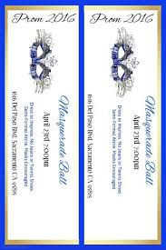 prom ticket template generic event ticket templates formal word