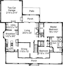 cozy cottage house plans 4 bedroom 3 bath cottage house plan alp 0346 allplans com