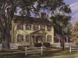 historic colonial house plans colonial house plans the house plan shop