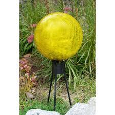 Garden Sphere Balls Decorating Black Metal Gazing Ball Stands For Garden Decoration Ideas