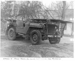 wwii jeep in action office of medical history 101st aireborne division