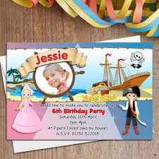 10 personalised princess and pirate birthday party photo