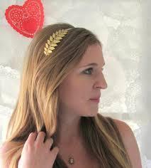 goddess headband golden goddess leaf headband