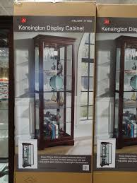 pulaski curio cabinet costco pulaski kensington display cabinet costco bar room pinterest