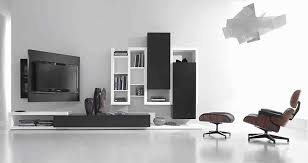 Black And White Living Room Furniture Home Design Ideas - Cool living room chairs
