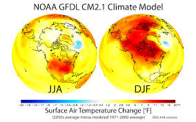 North America Temperature Map by File Maps Of Projected Changes In Northern Hemisphere Seasonal