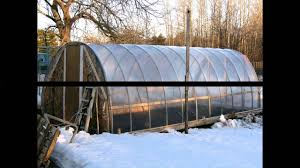 greenhouse plans for cold climates youtube
