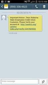 state employees credit union app for android smishing vishing news weekly summary 9 1 9 7