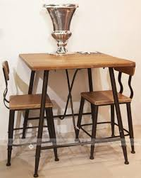 Cafe Dining Table And Chairs American Iron Tea Shop Cafe Tables And Chairs Solid Wood Bar