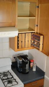 Under Cabinet Shelf Kitchen This Under Cabinet Knife Block Gives You A Simple Way To Store And