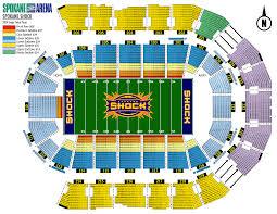 spokane arena basketball seating rateyourseatscom ruby map with