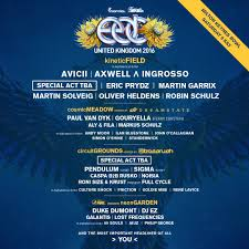 edc uk 2016 second lineup release festicket magazine