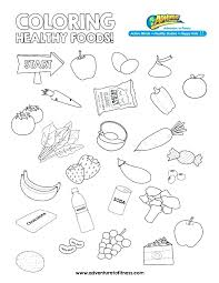 healthy food coloring pages preschool healthy food coloring pages healthy food coloring page sosin info