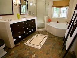 ideas for decorating small bathrooms small bathroom decorating ideas hgtv