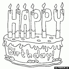 get this printable birthday cake coloring pages 29255