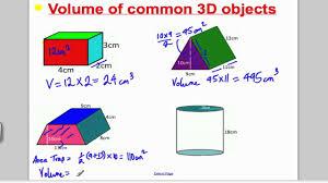 volume 1 gcse higher maths tutorial 9 youtube