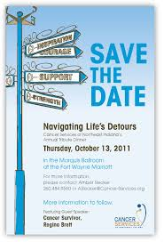 save the date emails annual tribute dinner save the date 10 13 11 cancer services