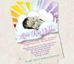 baby announcement cards rainbow baby announcement cards baby shower invites clothing
