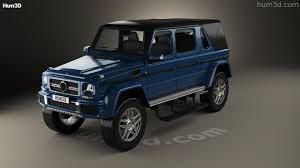 maybach landaulet 360 view of mercedes benz g class w463 maybach landaulet 2017 3d
