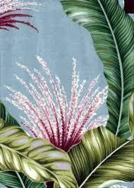Upholstery Weight Fabric Lahi Barkcloth Hawaii Fabrics Vintage Style Hawaiian Fabric