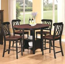 outstanding high kitchen table with storage also tall dining room