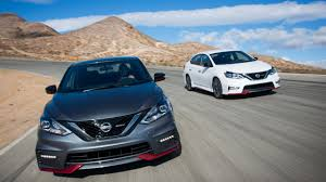 nissan sentra nismo 0 60 2017 sentra nismo making incremental upgrades with a new sr turbo
