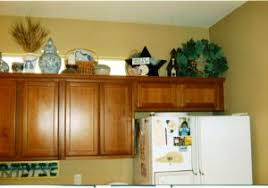 kitchen decorating ideas above cabinets kitchen decorations for above cabinets design ideas for the space