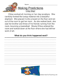 predictions worksheet have fun teaching