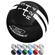 logo ford mustang shift knob 2 1 8