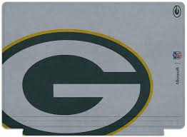 Green Bay Packer Flag Microsoft Surface Pro 4 Nfl Green Bay Packers Type Cover Qc700133