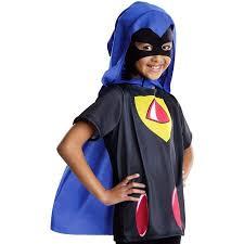 Raven Halloween Costume Teen Titans Raven Kids Costume Walmart