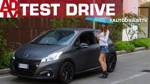 peugeot 208 gti test peugeot 208 gti by peugeot sport youtube