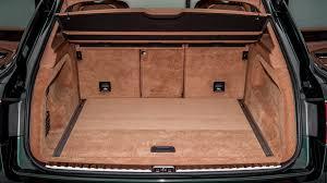 bentley bentayga trunk 2017 bentley bentayga diesel first drive