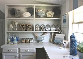 decorate office shelves create built in shelving and cabinets on a tight budget
