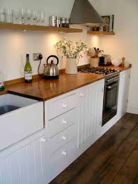 how to paint kitchen cabinet doors uk traditional bespoke kitchen with painted tongue and groove