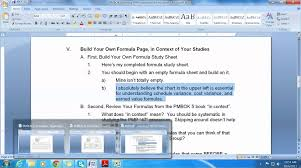 pmbok 5 learning pmp formulas your lesson plan youtube