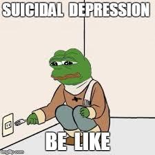 Depressed Frog Meme - pepe the frog fork memes imgflip