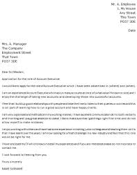 Sales Manager Cover Letter by Sales Accountant Cover Letter