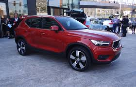 2019 volvo xc40 small suv to become brand u0027s first electric car