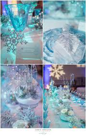 beautiful crystal sparkle snowflake table decor perfect for a