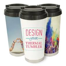 travel mugs images Personalized stainless steel travel mugs custom photo thermos jpg