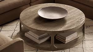 how to decorate a round coffee table for christmas metropolitan round coffee table reclaimed wood coffee table